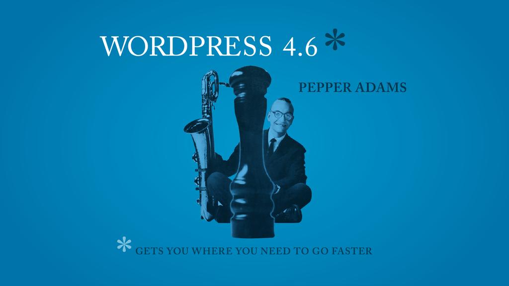 WordPress 4.6が正式リリースされました