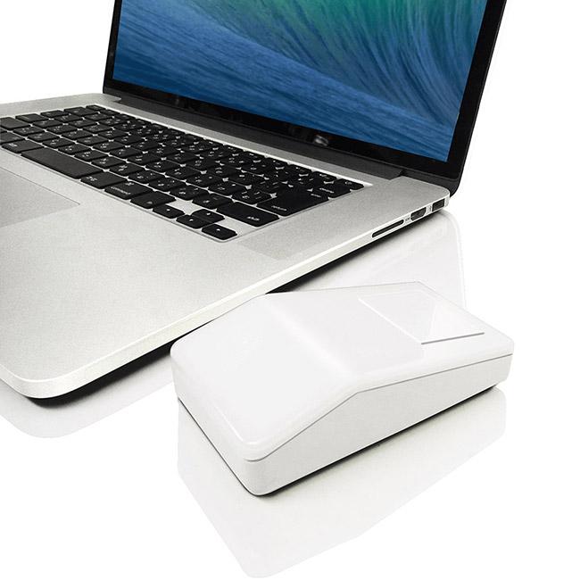 時代はレトロを求めてる?Appleの角マウス風「2.4GHzブルーLEDワイヤレス角マウス」が人気!